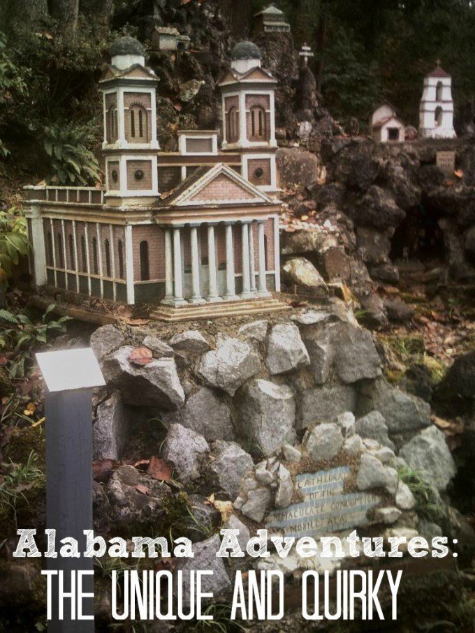 Three unique and quirky roadside attractions in Alabama that are worth a stop.