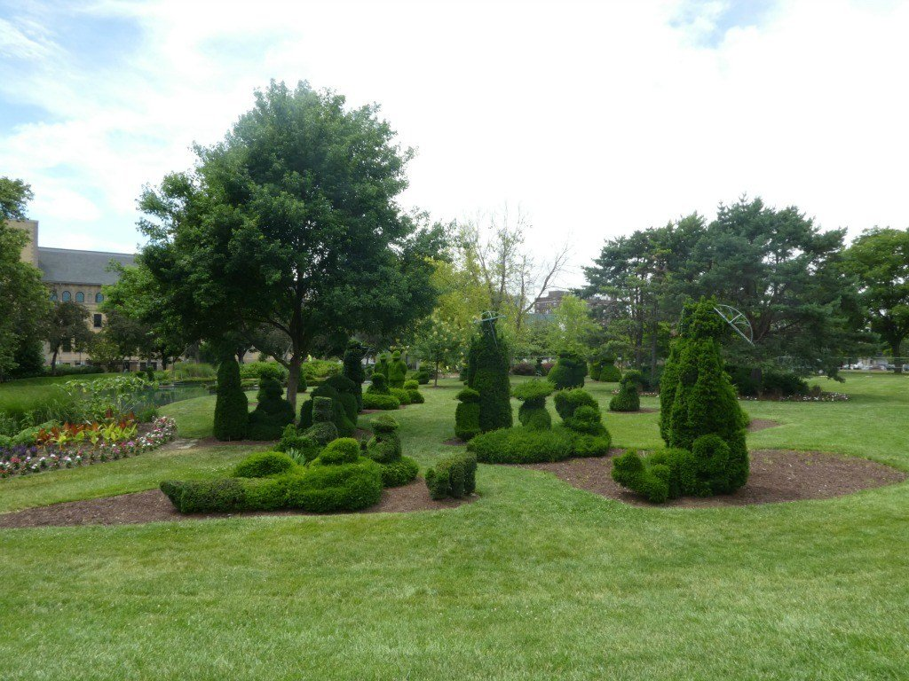 The Topiary Park in Columbus Ohio