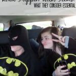 Roadtripping with Teens: What they Consider Essential
