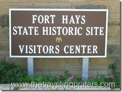 Historic Fort Hays: Another stop in Kansas