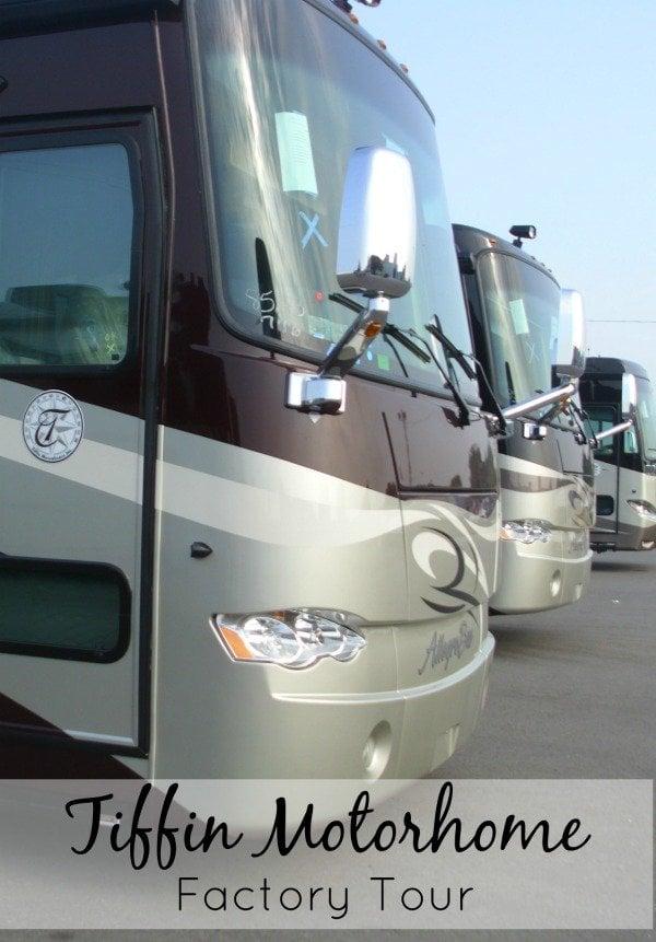 Tiffin Motorhome Factory Tour in Alabama