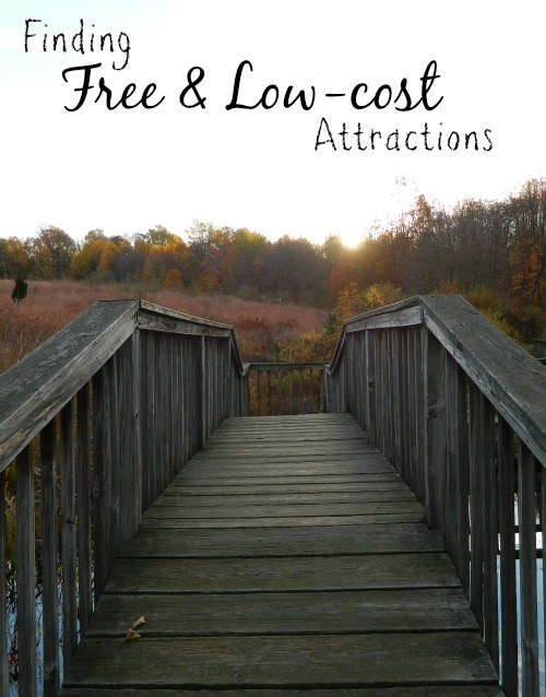 Finding Free & Low-cost Attractions