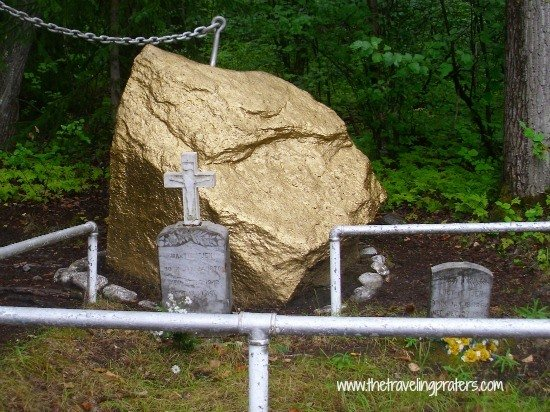Gold Rush Cemetery Skagway Alaska