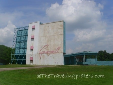 Springmill Drive-In Theater Mansfield, Ohio