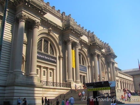 Visiting the Metropolitan Museum of Art: a Reader Question