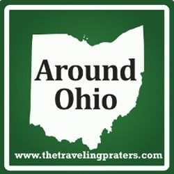 Around Ohio Button
