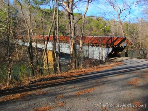 Swann Covered Bridge Blount County, Alabama