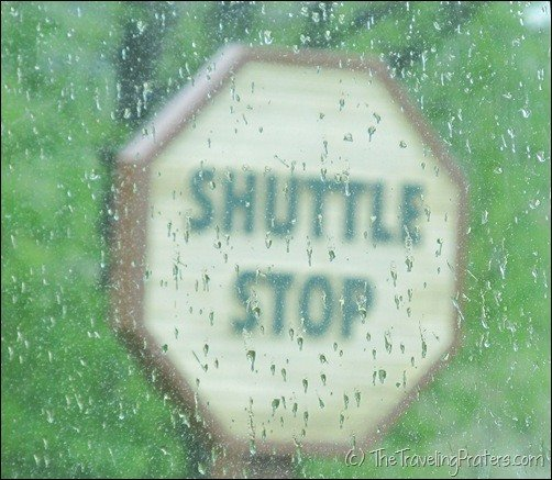 Shuttle Stop at The Wilds
