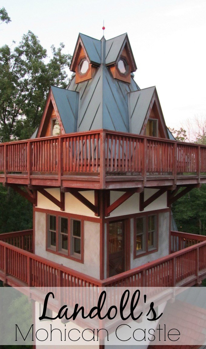 Landoll's Mohican Castle near Loudonville, Ohio as seen on MTV's Sweet Sixteen and Hotel Hell welcomes guests for overnight stays.