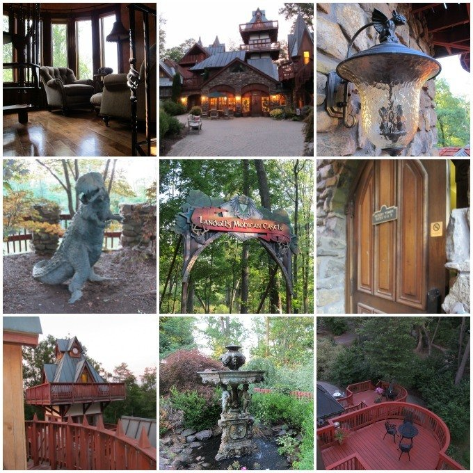 Photos of Landoll's Mohican Castle in Loudonville Ohio