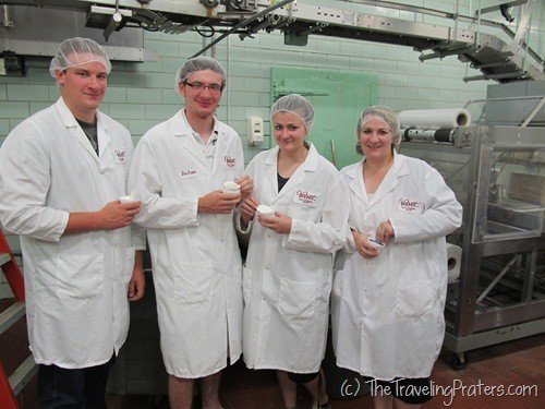 A Behind the Scenes Glimpse of the Velvet Ice Cream Factory