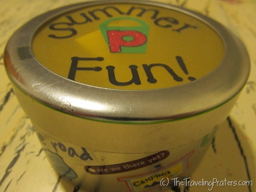 summer fun jar