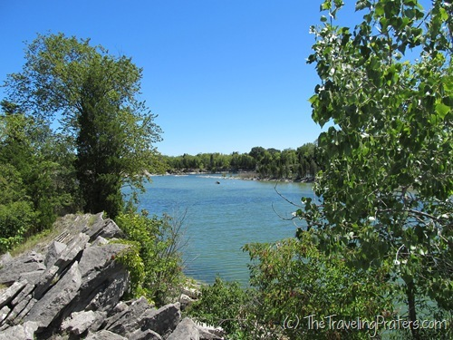 East Quarry Trail at Kelleys island