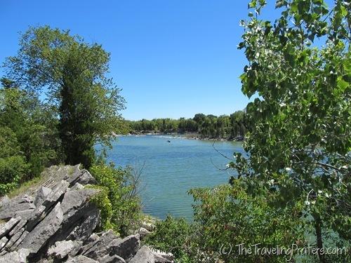 East Quarry Trail at Kelleys island