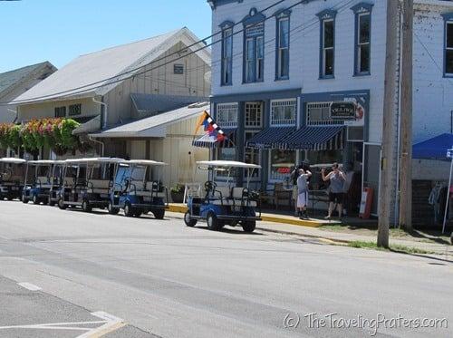 Downtown in Kelleys Island