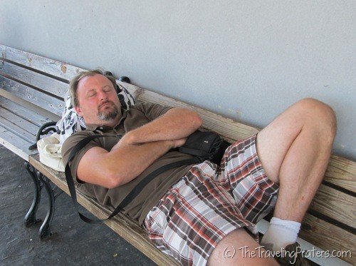 Resting at Kelleys Island