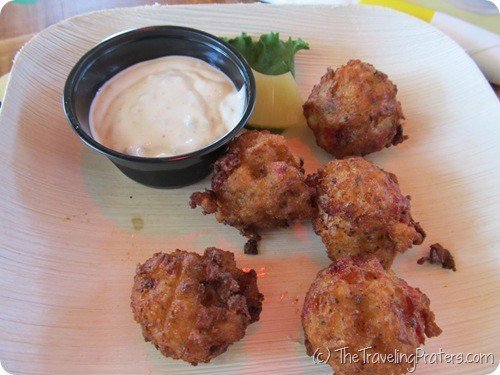 Conch Fritters at The Keys