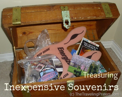 Treasuring Inexpensive Souvenirs