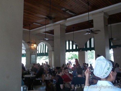 Cafe de Monde in New Orleans
