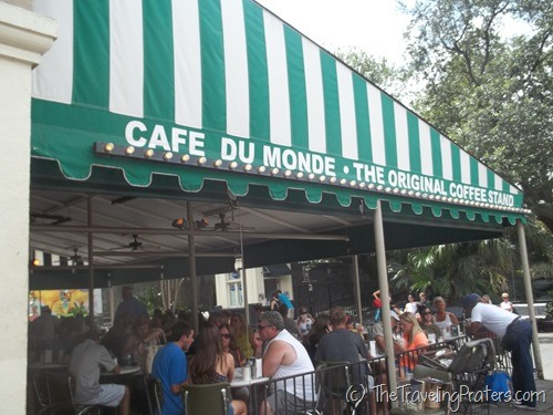 The Original Cafe du Monde in New Orleans