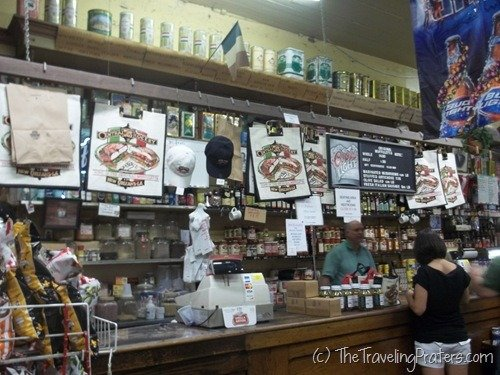 Inside Central Grocery Co. in New Orleans