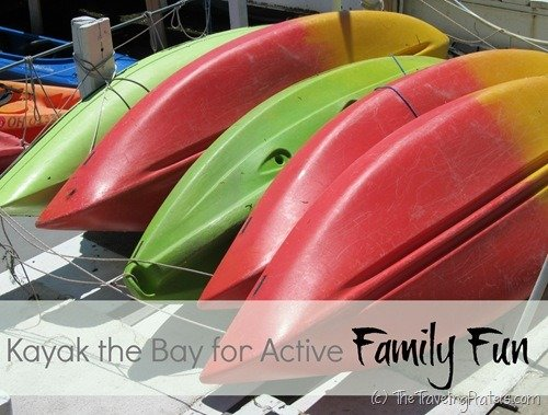 Kayak the Bay for Active Family Fun