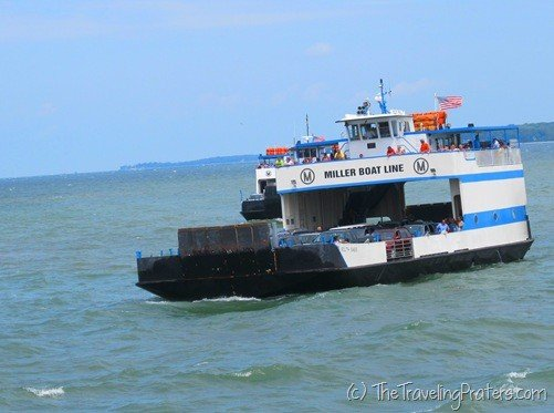 Traveling to Put-in-Bay via Miller Boat Line