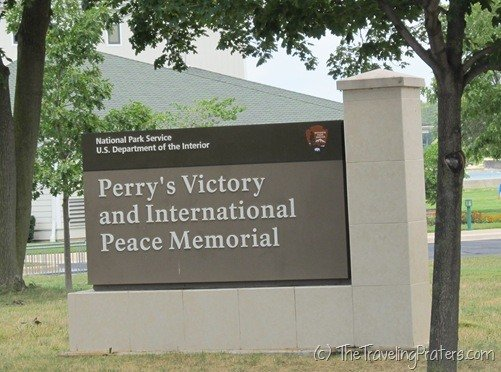 Perry's Victory and International Peace Memorial sign