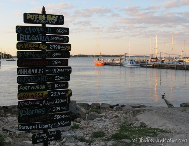 Wordless Wednesday- The Most Popular Sign in Put-in-Bay