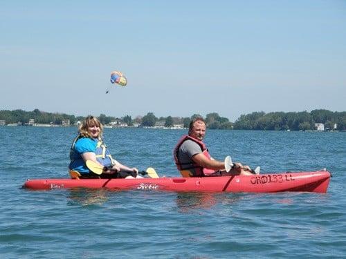 Kayak the Bay Lake Erie