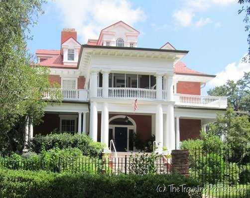 Plantation Home along St. Charles St. in New Orleans