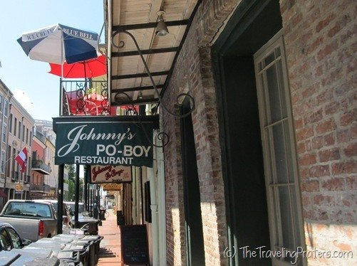 Johnny's Po-Boy Sandwiches in New Orleans