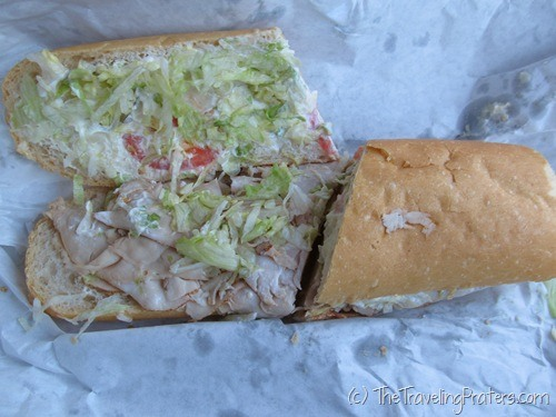 Turkey Breast Po-Boy in New Orleans