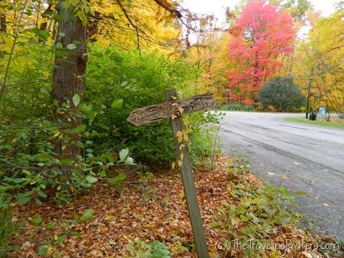 Kingwood center Nature Trail