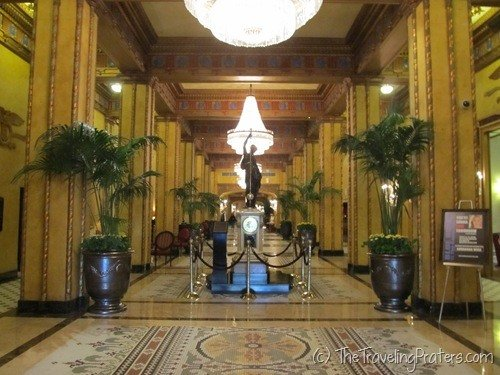 The Lobby of the Roosevelt Hotel