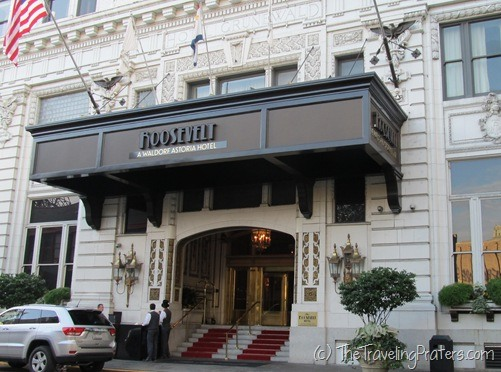 The Roosevelt Hotel in New Orleans