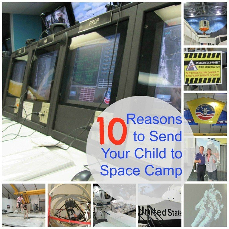 10 Reasons to Send Your Child to Space Camp