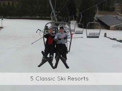 classic ski resort vacations