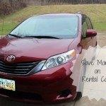 Travel Tip: Save Money on Rental Cars
