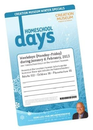 Winter Homeschool Days at the Creation Museum