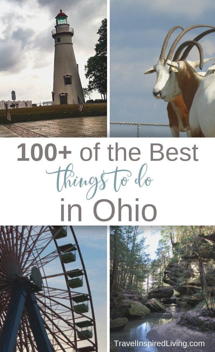 100+ of the Best Things to do in Ohio and the best part? Many of these attractions are family friendly and totally free!