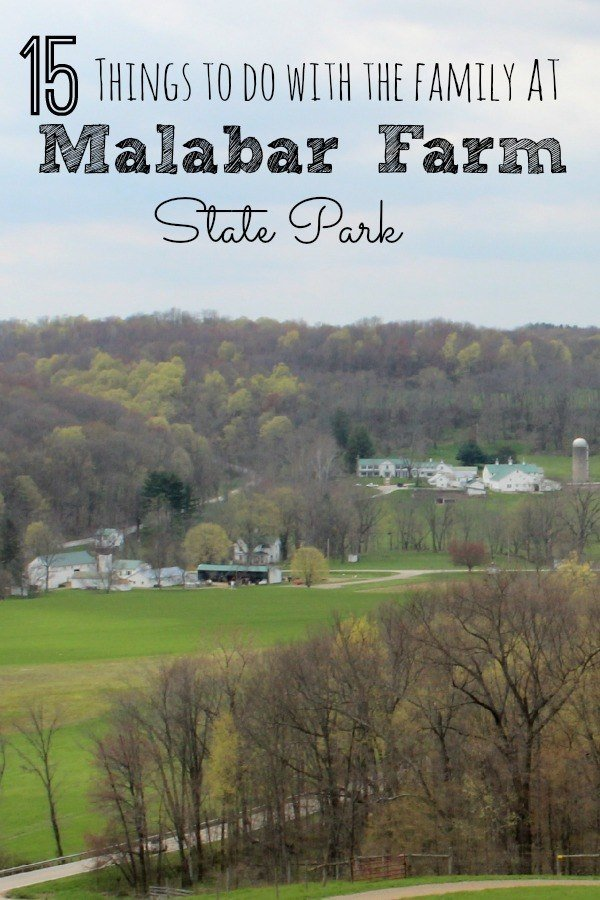 15 Things to do with the Family at Malabar Farm State Park, from hiking to home tours to exploring a cave. There's plenty for all ages at Malabar Farm State Park.