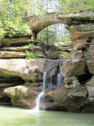 Upper Falls in Hocking Hills State Park