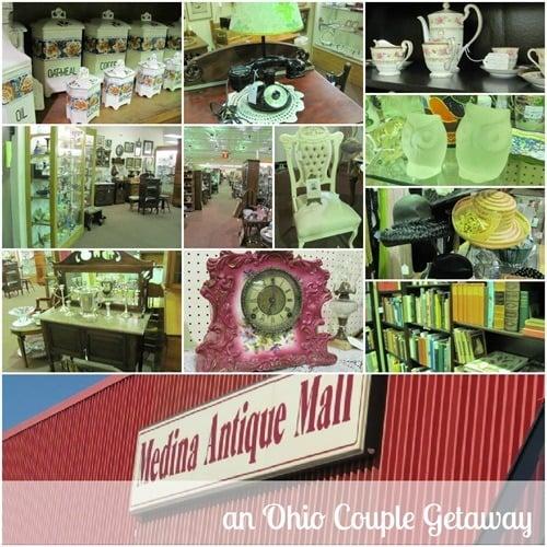Medina Antique Mall an Ohio Couple Getaway