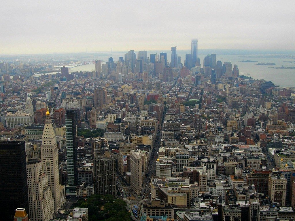 NYC from the top of the Empire State Building