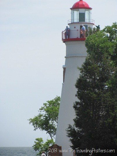3 Popular Regions to Visit in Ohio- The Marblehead Lighthouse on Lake Erie