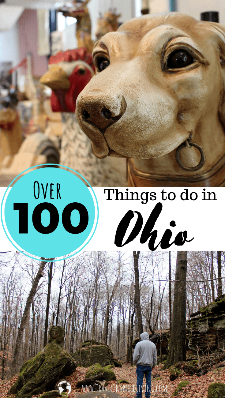 Looking for the best things to do in Ohio? We are sharing over 100 places in the Buckeye State that we've personally visited! #travel #thingstodoinOhio