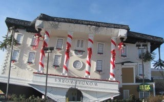 February 2014 Homeschool Days at Wonderworks in Pigeon Forge