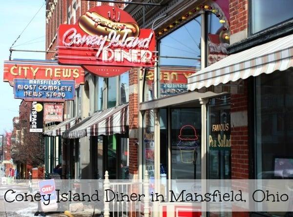 Coney Island Diner Mansfield's oldest restaurant