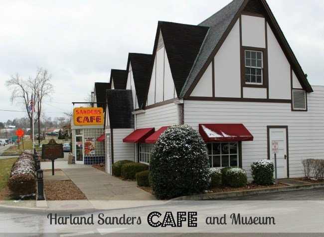 Harland Sanders Cafe and Museum in Corbin Kentucky